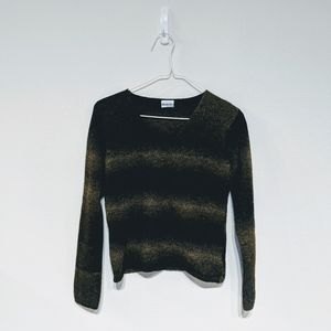 Columbia olive woolen sweater size S